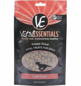 Vital Essentials VITAL ESSENTIALS DOG FREEZE-DRIED TREAT LAMB 2OZ