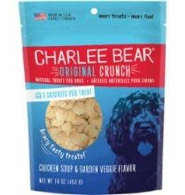 Charlee Bear CHARLEE BEAR DOG CHICKEN SOUP & VEGGIE TREAT 16OZ