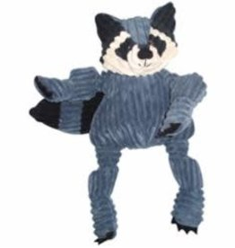 HuggleHounds HuggleHounds Dog Toy Plush Knotties Woodland Raccoon Wee Huggles
