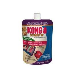 Kong Kong stuff'n All Natural Peanut Butter Chicken Mess Free Dog Treat for Kong - 6 oz