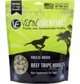 Vital Essentials VITAL ESSENTIALS DOG FREEZE-DRIED NIBS BEEF TRIPE 16OZ