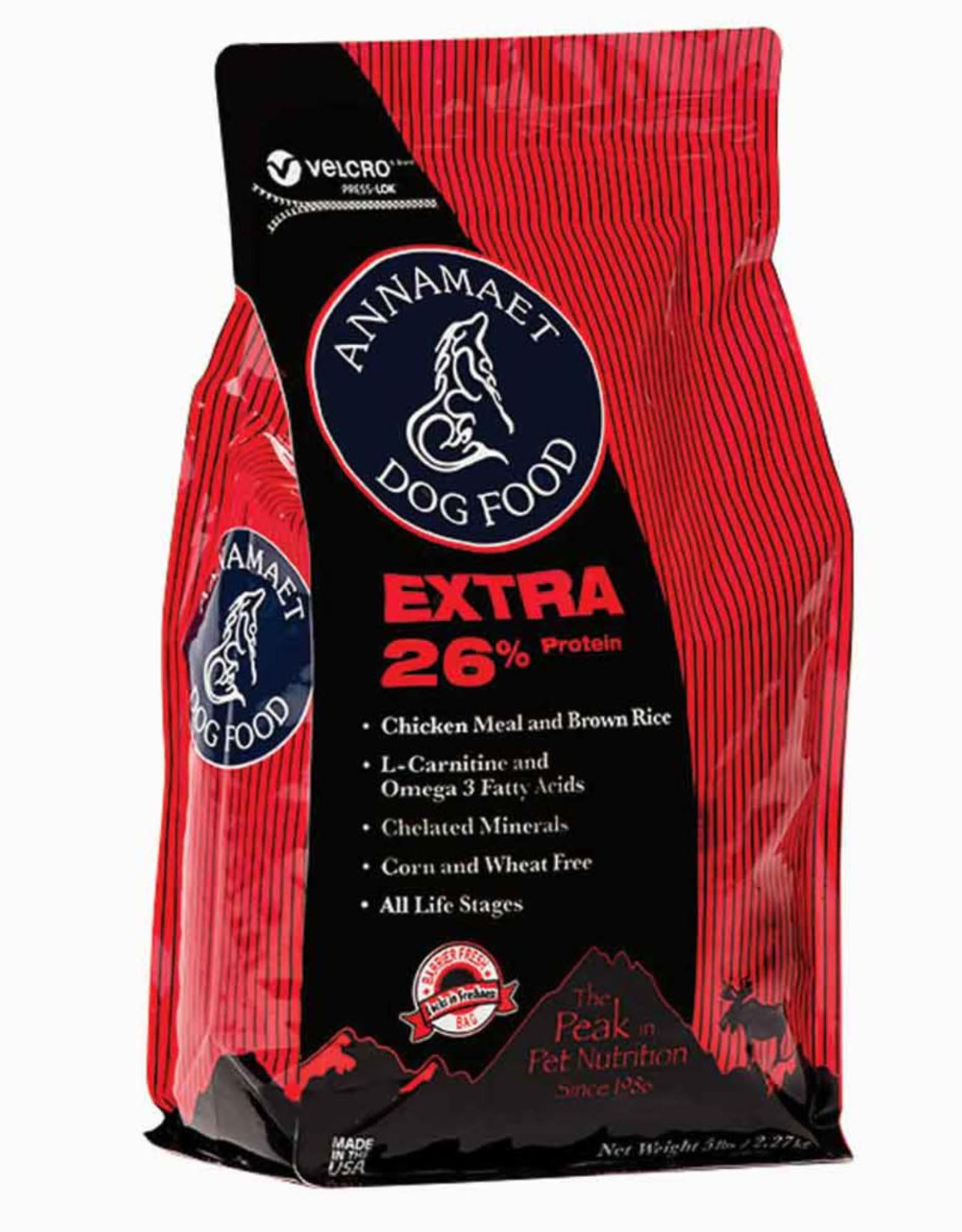 ANNAMAET DOG EXTRA 26% 5LB/4   CHICKEN FISH                  *