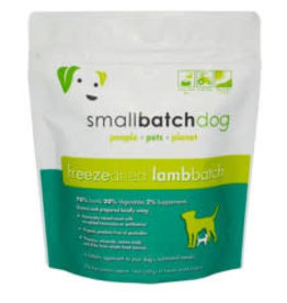 Small Batch SMALLBATCH DOG FREEZE-DRIED LAMB SLIDERS 14OZ