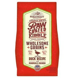 Stella & Chewy's Stella & Chewy WHOLESOME GRAIN RAWCOATED DUCK, 3.5 LBS.