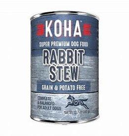 Koha KOHA DOG GRAIN FREE STEW RABBIT 12.7OZ