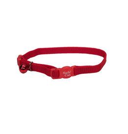 "Coastal Coastal Style 7001 Safe Cat Breakaway Cat Collar 3/8"" x 8-12"" Red"