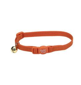 Coastal Coastal Cat Adjustable Breakaway Safety Collar Sunset Orange