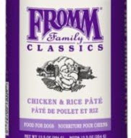 Fromm Fromm Classics Chicken & Rice Pate For Dogs 12.5 oz