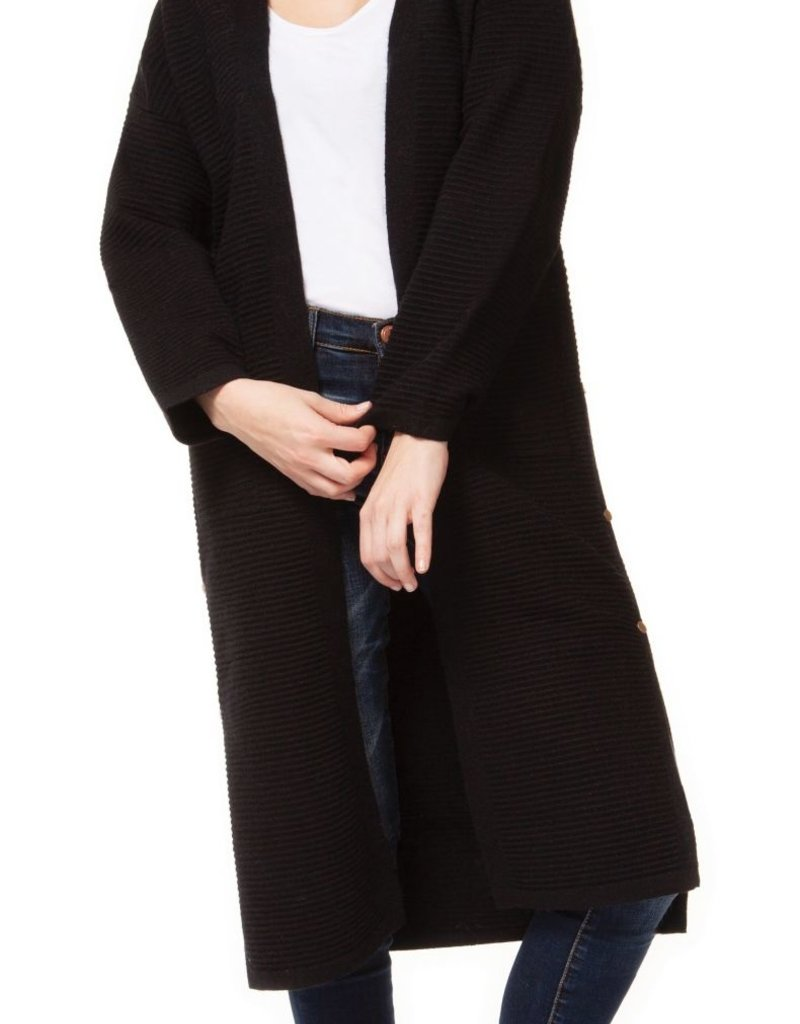 Dex Side Button Sweater Cardigan