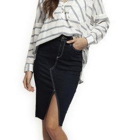 Dex Dark Denim Skirt