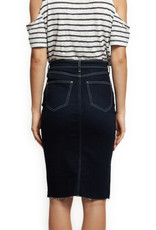 Dex Dark Denim Skirt
