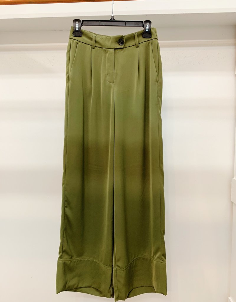 Vero Moda Bella Wide Leg Pant Green
