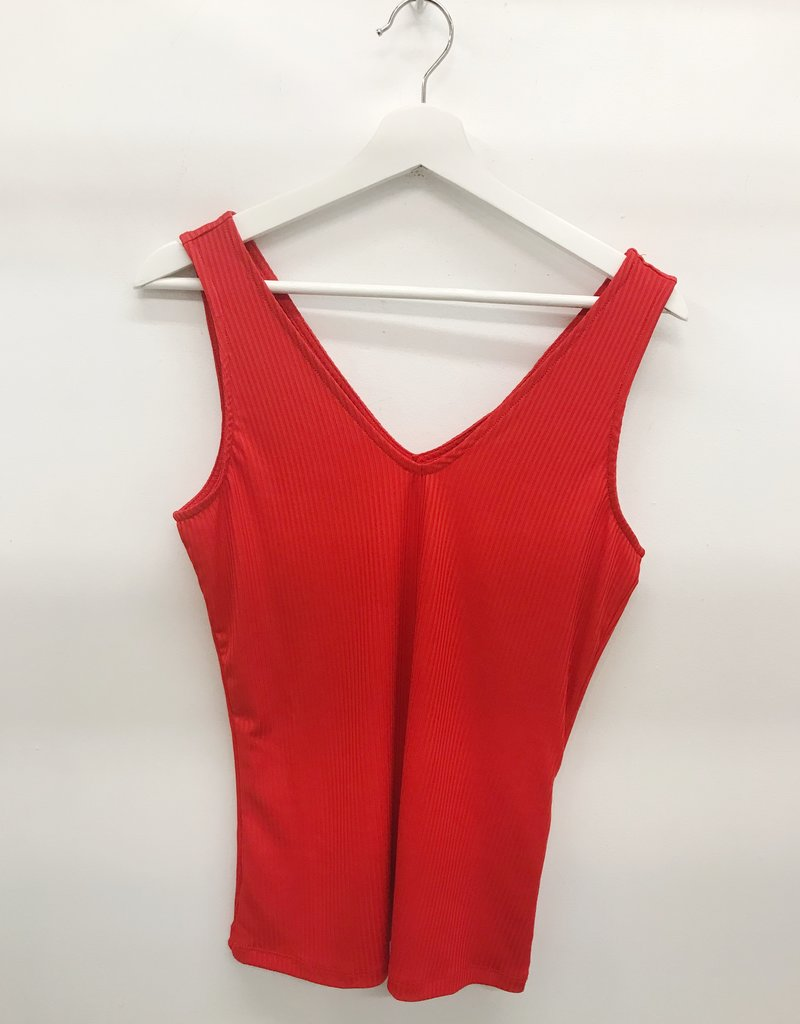 Vero Moda Cilla Top Fiery Red