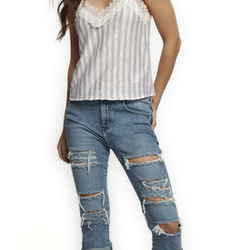 Dex Ripped Boyfriend Denim