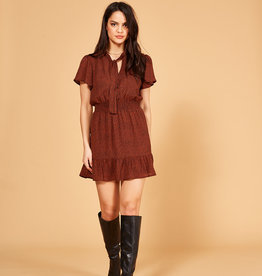 Mink Pink Wild Cat Mini Dress