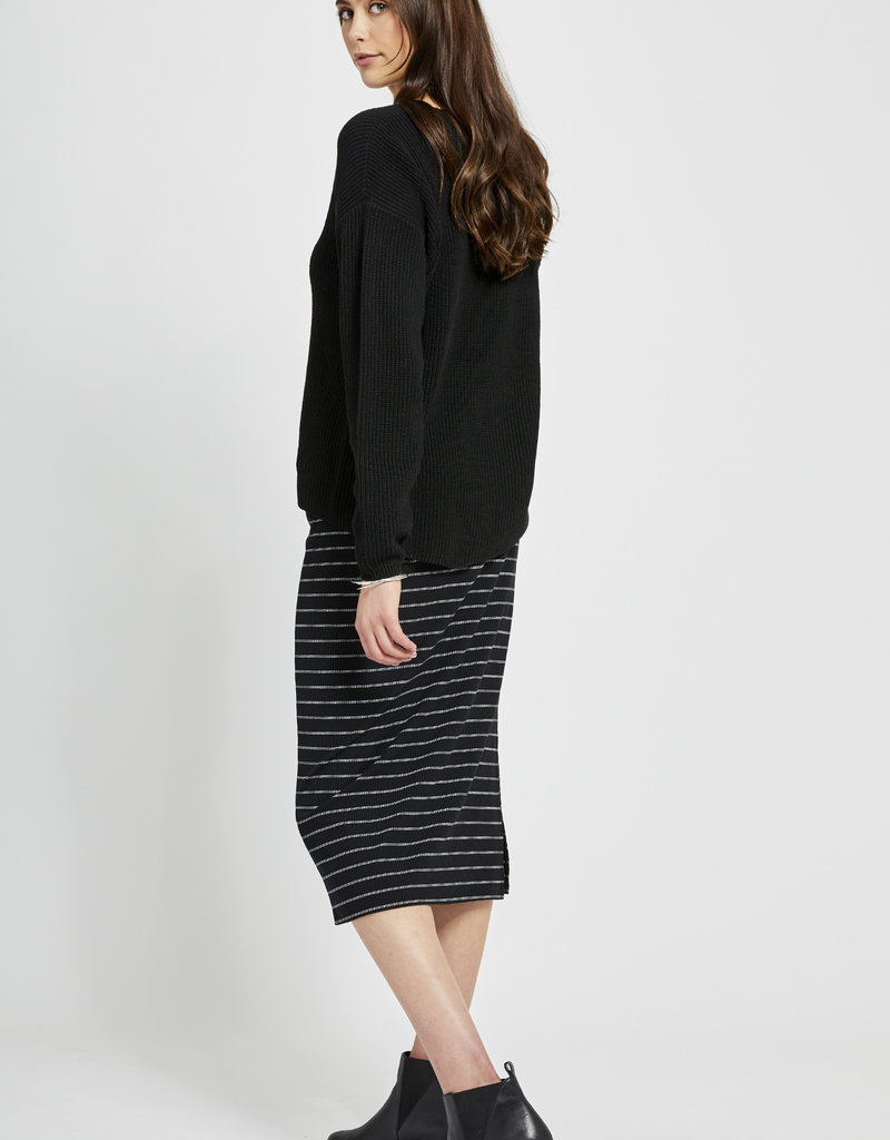 Gentle Fawn Tucker Sweater Black