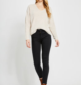 Gentle Fawn Tucker Sweater Light Heather Oatmeal