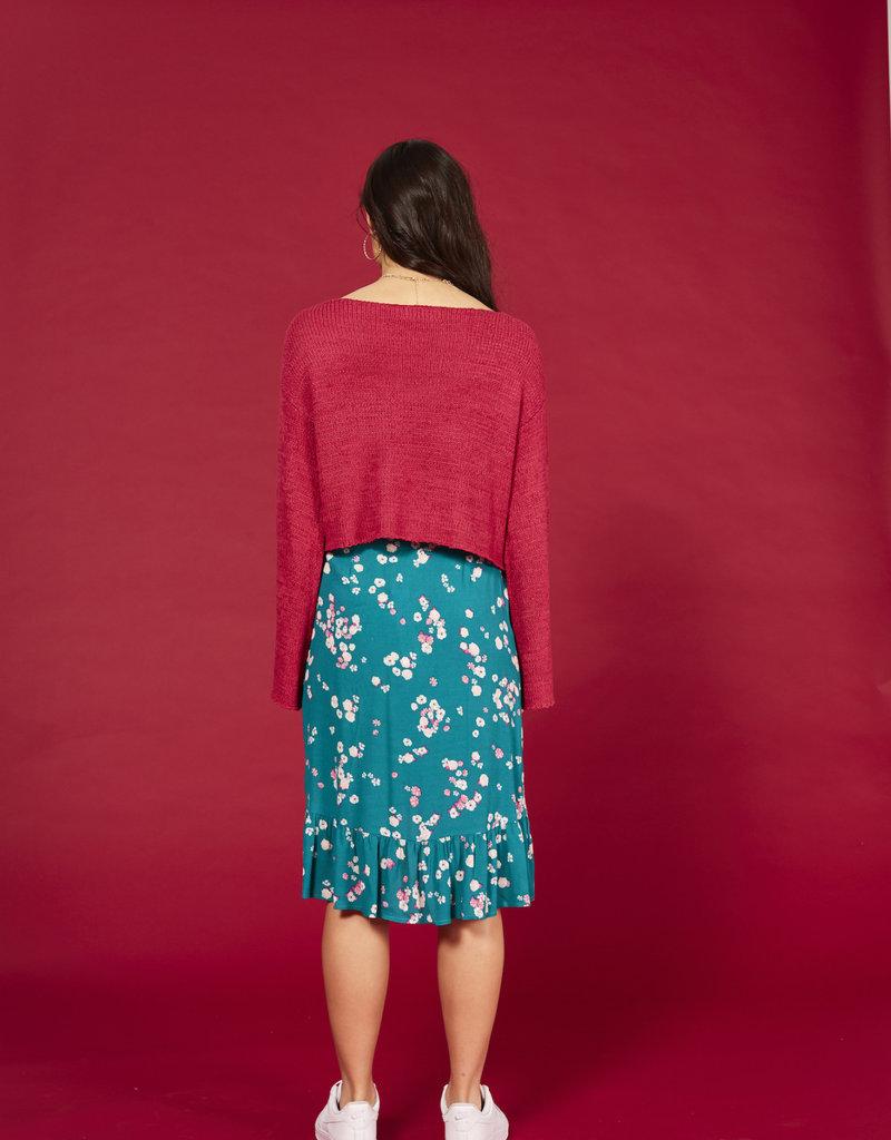 Mink Pink New City Knit Sweater