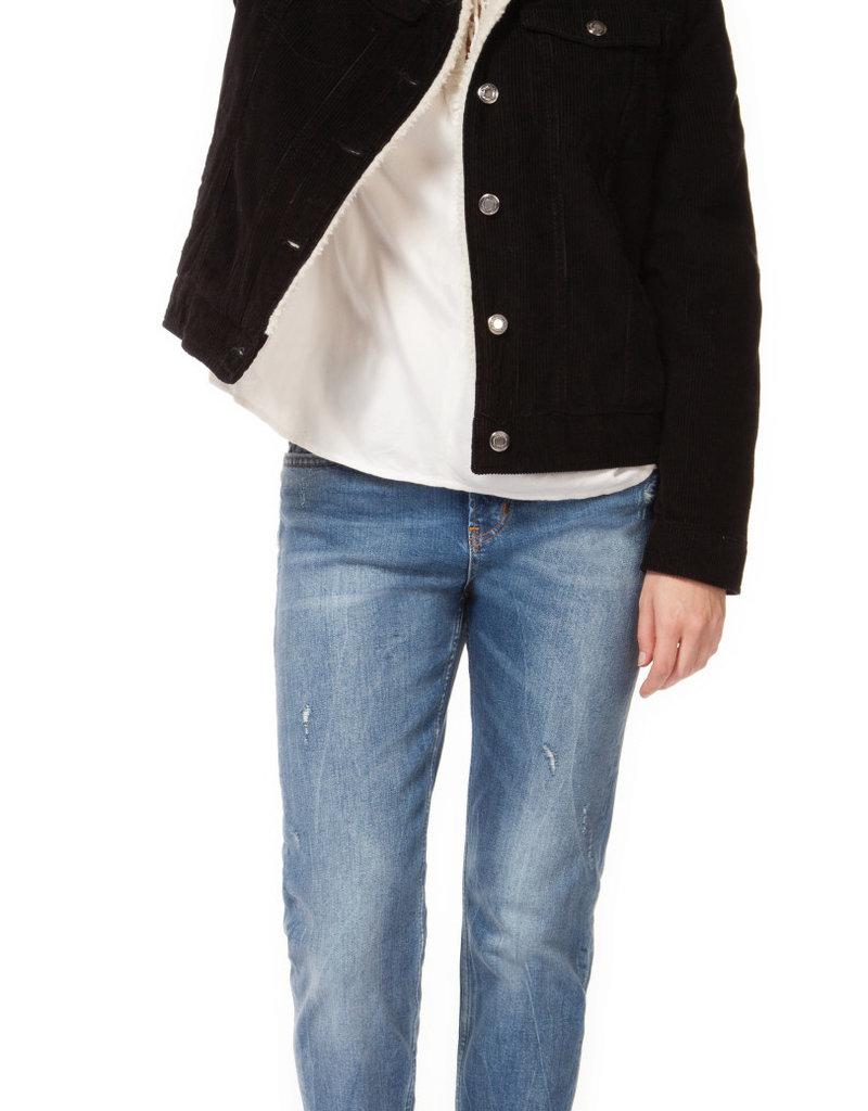 Dex Black Corduroy Jacket