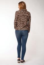 Dex Cheetah Button Down Shirt