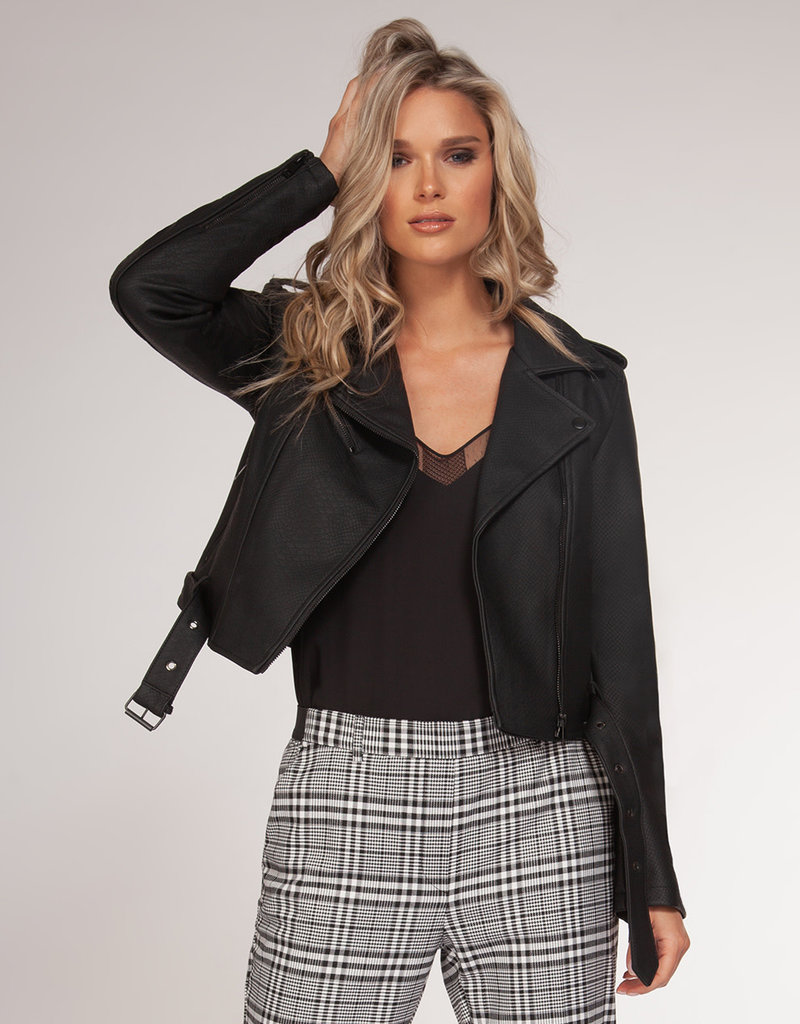 Black Tape Black Moto Jacket