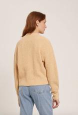 Frank & Oak Knitted Cardigan Beige