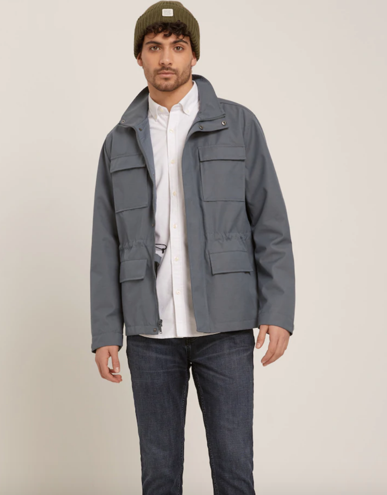 Frank & Oak Field Jacket Charcoal
