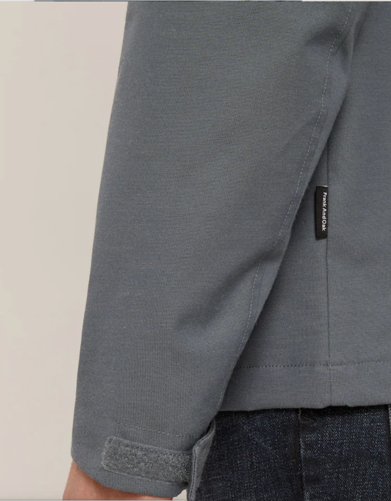 Frank & Oak Field Jacket Charcoal