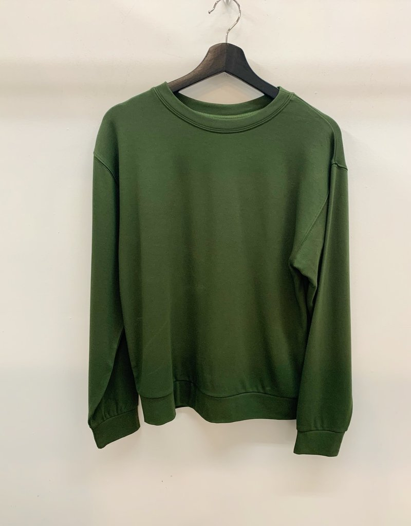 Orb Clothing Jenna Pullover Olive