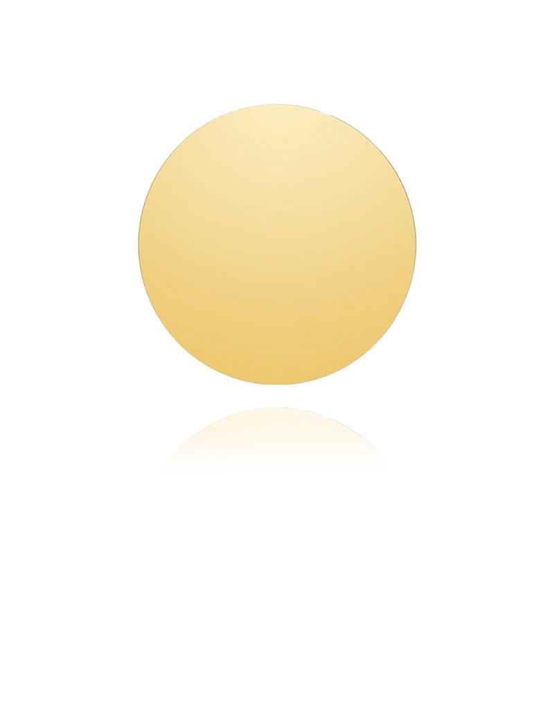 Lakoo Designs Gold Big Disc