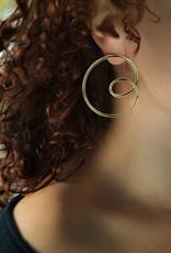 Lakoo Designs Gold Big Loop Right