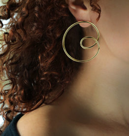 Lakoo Designs Gold Big Loop Right