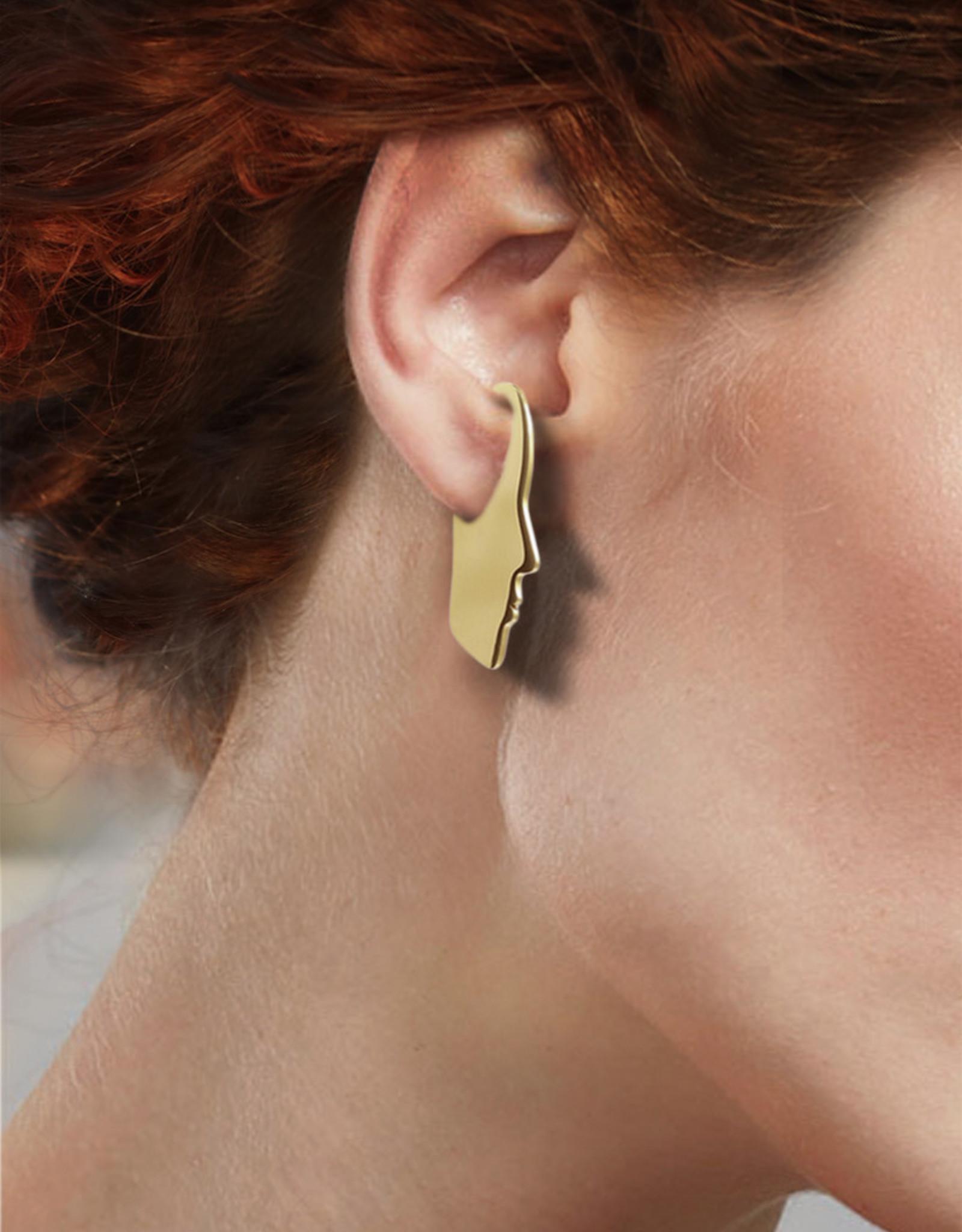 Lakoo Designs Gold Silhouette