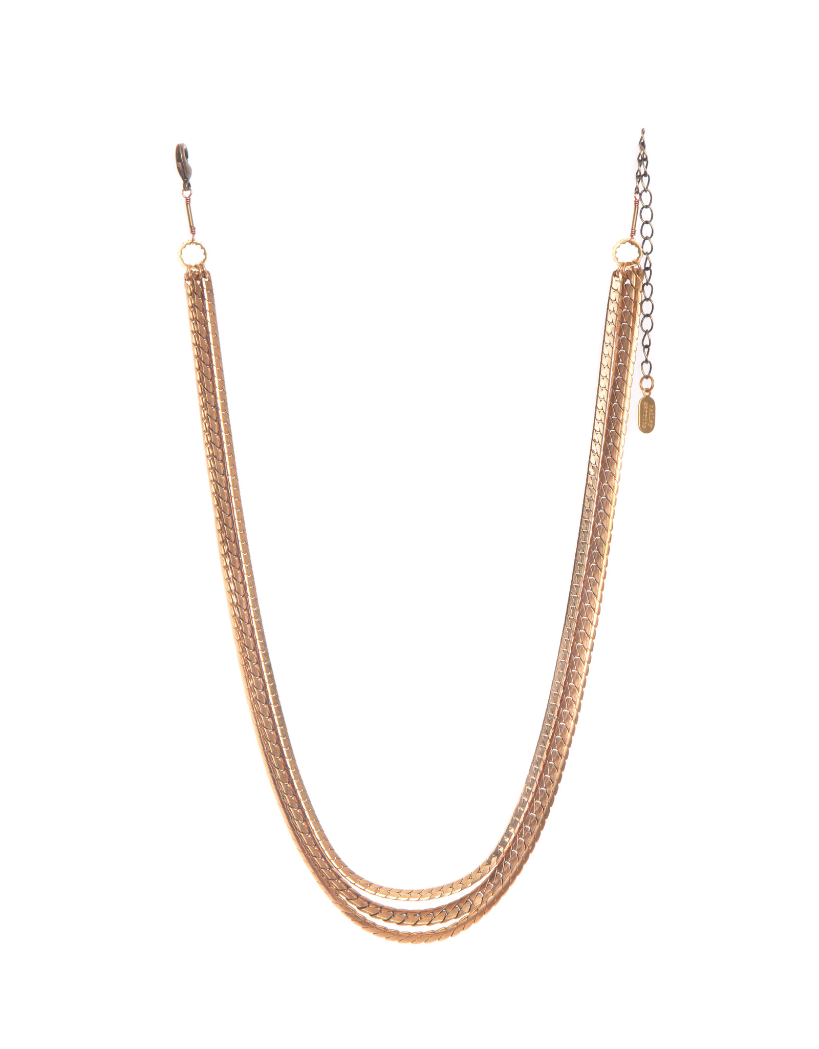 Hailey Gerrits Mixed Chain Necklace