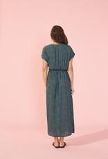 Mink Pink Eyes Wide Wrap Midi Dress