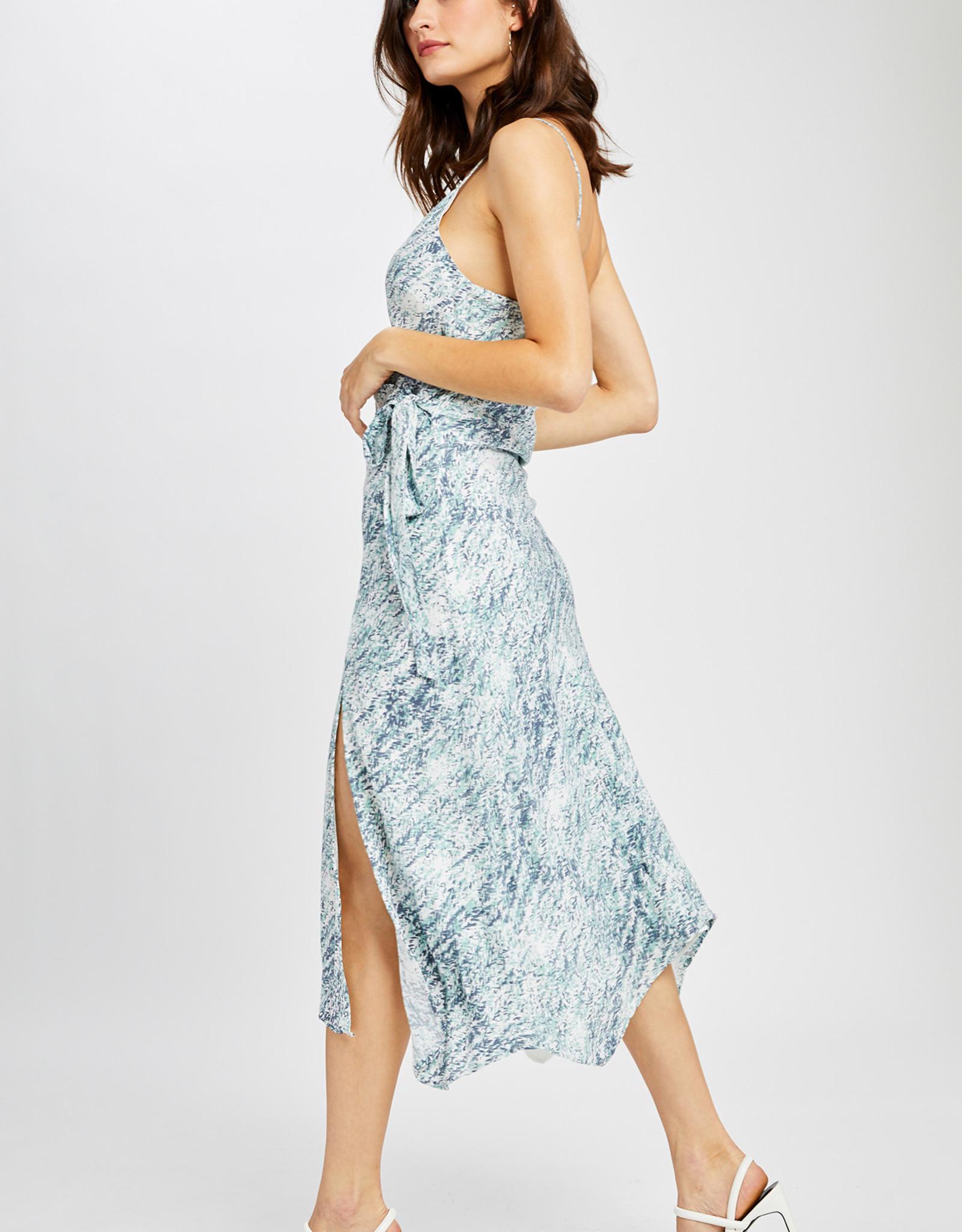 Gentle Fawn Cancun Navy Texture Dress