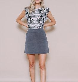 Orb Clothing Parker A-Line Skirt