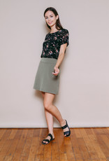Orb Clothing Parker A-Line Skirt