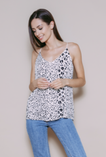Orb Clothing Paulina Cami Leopard