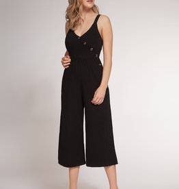 Dex Black Strappy Jumpsuit