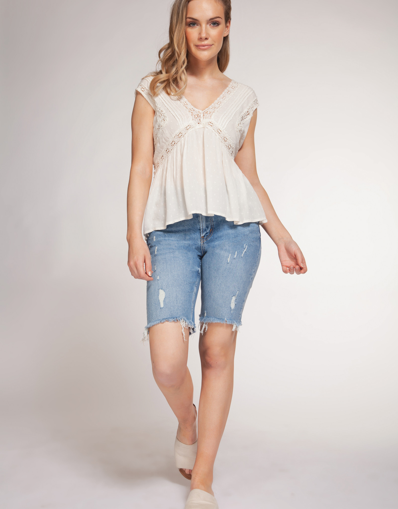 Dex Lace Crochet Top