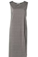 Yaya Double Layer Blue Grey Dress