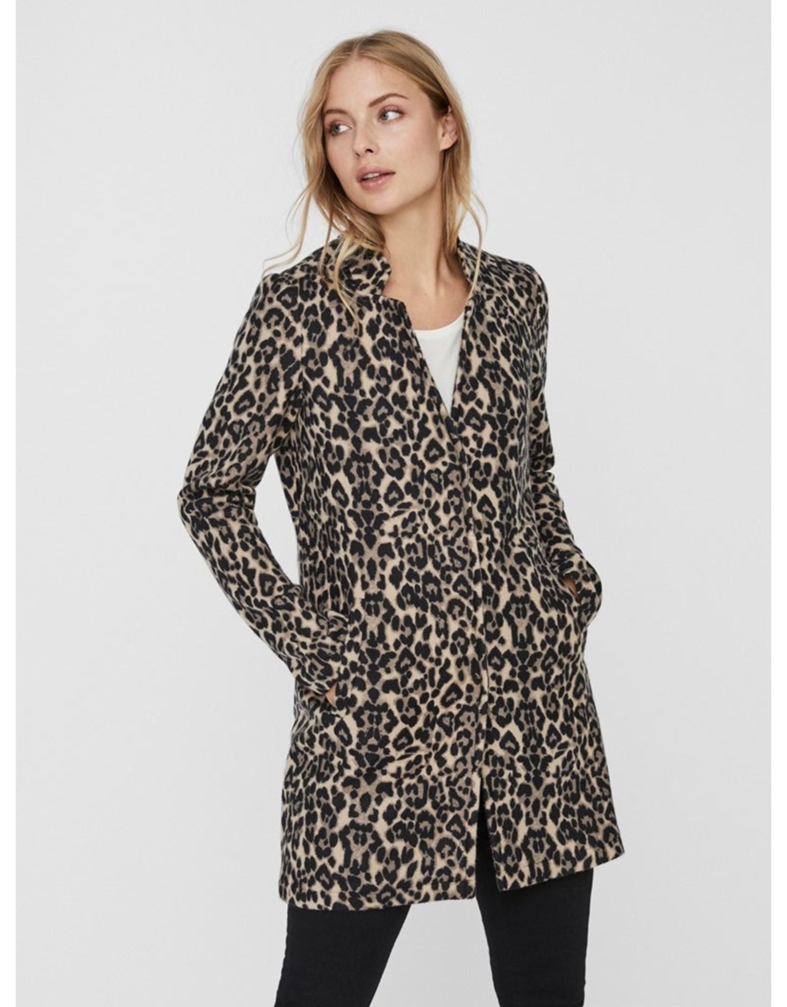 Vero Moda Katrine Leopard Coat