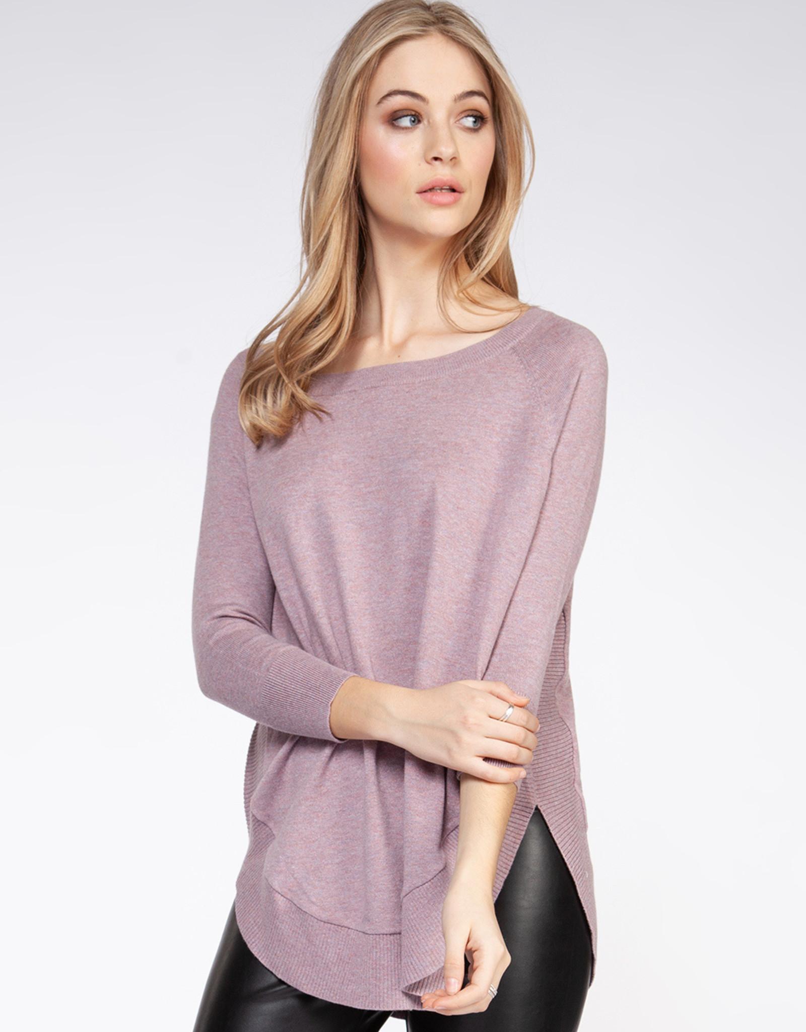 Dex Mauve Sweater