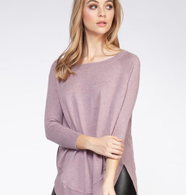 Dex Mauve Sweater