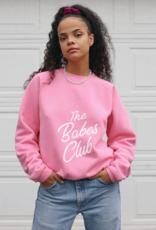 Babes Club Birds Papaya Pink