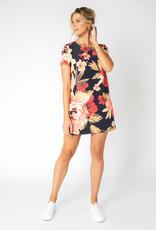 Mink Pink Annika Blooms Tee Dress