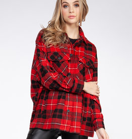 Dex Red Plaid Jacket