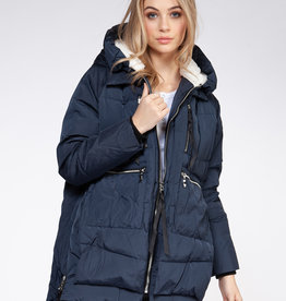 Dex Deep Blue Puffy Parka