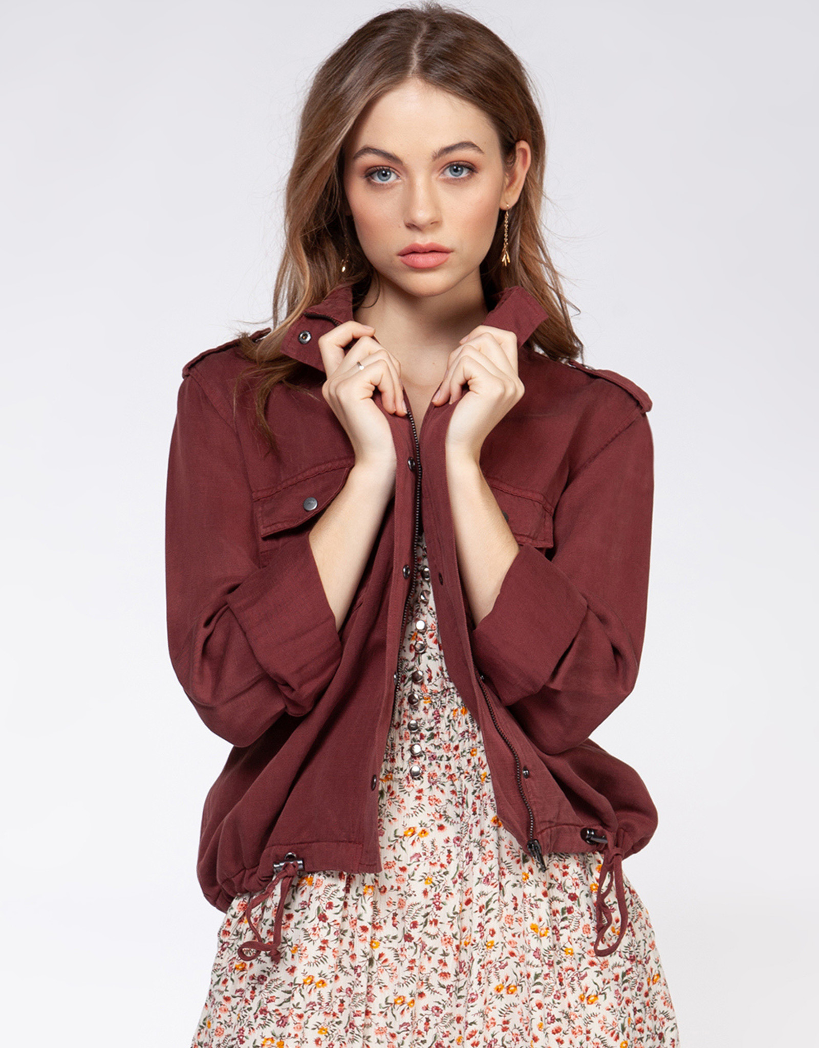 Dex Dark Rose Jacket